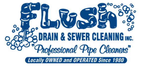 Flush Drain & Sewer Cleaning Logo